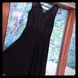 Little black dress glitter top. Enfocus Studio 12
